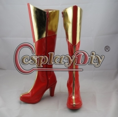 wonder woman boots shoes cosplay costume shoes