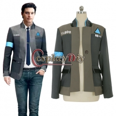 Detroit Become Human Connor jacket cosplay costume