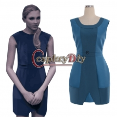 Detroit: Become Human Chloe Cosplay costume Dress blue dress