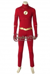 The Flash Season 5 Barry Allen Flash Cosplay Costume