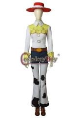(with shoes)Toy Story Jessie Cosplay Costume