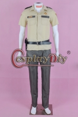 The Walking Dead Sheriff Rick Grimes Costume Cosplay
