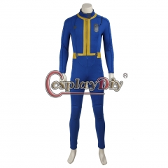 Game Fallout 4 Male Sole Survivor Nate Cosplay Costume jumpsuit only
