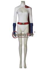 (without shoes)Power Girl Kara Zor-L cosplay costume outfit