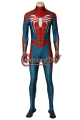 PS4 Spider-Man cosplay costume spiderman jumpsuit