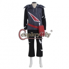 Pokemon Sun Moon Gladion Cosplay Costume