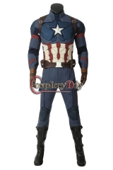 (with shoes)Avengers: Endgame Steven Rogers Captain America cosplay costume