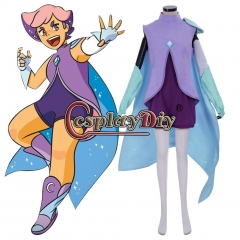 She-ra and the Princesses of Power Glimmer Cosplay costume dress custom made