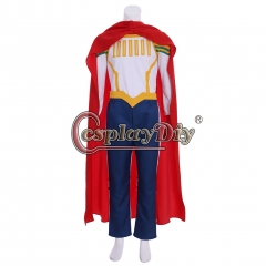 CosplayDiy Boku no Hero Academia All Might Million Cosplay Costumes My Hero Academia Men With Cloak Full Outfits Halloween Party