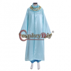 Aladdin Princess Jasmine Dress Outfit Costume with cape cosplay costume