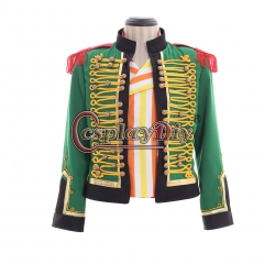 Cosplaydiy Musical Les Miserables Monsieur Thenardier Cosplay Costume Men Performance Uniform jacket and vest only