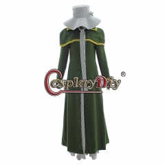Cosplaydiy Musical Les Miserables Fantine Maiden Cosplay Costume Women Miserables Les Halloween Dress Suit