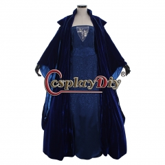 Cosplaydiy Star Wars Queen Padme Amidala Padme Naberrie gown dress Attack Of The Clones cosplay dress