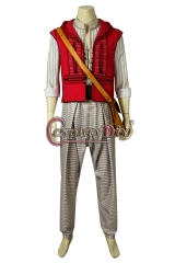 Cosplaydiy Indian Movie Aladdin Costume Aladdin Lamp Prince Mena Massoud Cosplay Uniform Halloween Carnival Adult Men Outfit Custom Made