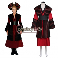 Cosplaydiy Movie Star Wars Episode I Padme Queen Amidala Sabe's Decoy Cosutme Adult Women Halloween Cosplay Costume Custom Made