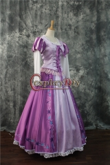 Cosplaydiy Tangled Rapunzel Princess Dress Costume Adult Princess Rapunzel Dress Custom Made