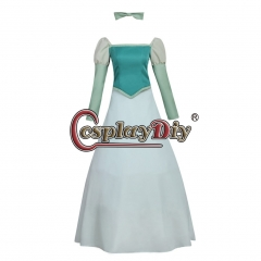 Cosplaydiy Women's Fairytale Princess Maid Costume Dress Cosplay Adult