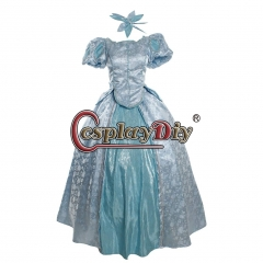Cosplaydiy Women's Cosplay Fancy Dress for The Little Mermaid Princess Ariel Cosplay costume