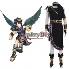 Cosplaydiy Kid Icarus Uprising Pit Cosplay Costume full set custom made halloween costume