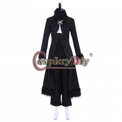 Cosplaydiy Pokemon Sun and Moon Cynthia Cosplay Costume Suit For Halloween Party