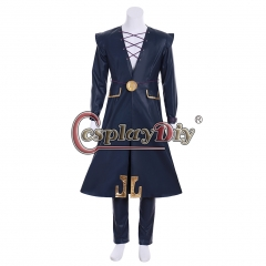 Cosplaydiy Anime JOJO JoJo's Bizarre Adventure Golden Wind Leone Abbacchio Cosplay Costume halloween costume custom made