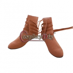 Medieval Tudor Cosplay Shoes Medieval Viking Festival LARP Shoes Boot
