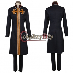 Cosplaydiy Anime JOJO JoJo's Bizarre Adventure 6 Enrico Pucci Cosplay Costume halloween costume custom made
