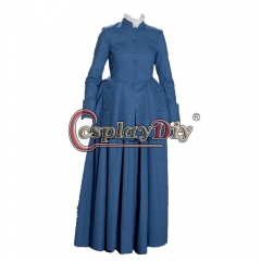 Cosplaydiy Outlander Scottish dress outlander Geneva dress costume outlander cosplay costume highland dress