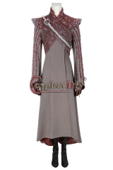 (With Shoes) Game of Thrones Season8 Daenerys Targaryen (Mother of Dragons) Cosplay Carnival Costume Halloween Christmas Costume