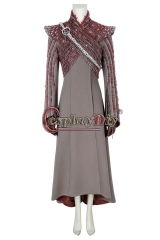 (Without Shoes) Game of Thrones Season8 Daenerys Targaryen (Mother of Dragons) Cosplay Carnival Costume Halloween Christmas Costume