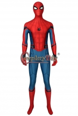 Cosplaydiy Spider-Man: Far From Home Spider Man Costume Peter Parker Spiderman Cosplay Adult Halloween Carnival Bodysuit Zentai Male