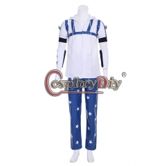 Cosplaydiy Anime JOJO JoJo's Bizarre Adventure Johnny Joestar Cosplay Costume Custom Made Halloween Costumes for Adult