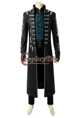 (Without Shoes) Devil May Cry 5 Game Costume Vergil Cosplay Adult Custom Halloween Christmas Carnival