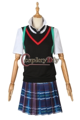 Spider-Man Into the Spider-Verse Costume Peni Parker Cosplay Fancy Dress Girls Women Halloween Superhero Outfit Prop Custom Made