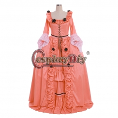 Cosplaydiy 18th century Women colonial Marie Antoinette Rococo Baroque Fancy Dress Cosplay Costume Party Carnival Dress