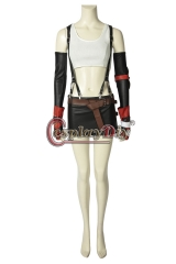 (Without Shoes) Game FINAL FANTASY VII Tifa Lockhart FFVII FF7 Cosplay Costume Adult women Halloween Suits Full Outfits Custom Made