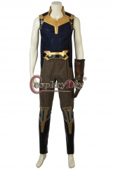 (Without Shoes) Avengers Infinity War Thanos Cosplay Costume Halloween Party Adult Men Custom Made