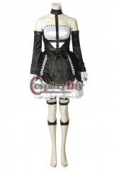 Cosplaydiy DEAD OR ALIVE6 Cosplay Marie Rose Costume Halloween Christmas Adult Women Custome Made Uniform Dress