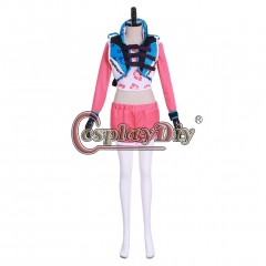 Cosplaydiy DVA Cosplay Song Hana Song Wave breaker set cosplay costume halloween costumes for women