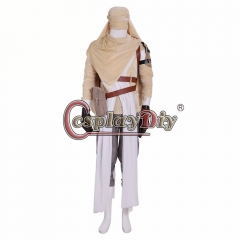 Cosplaydiy Star Wars vii:The Force Awakens Rey Mummy Scavengers Cosplay costume custom made