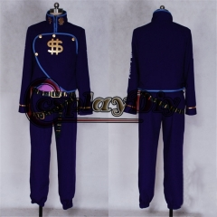 Cosplaydiy JoJo's Bizarre Adventure Nijimura Okuyasu Cosplay Costume Adult Men Full Outfits Halloween Outfits Custom Made