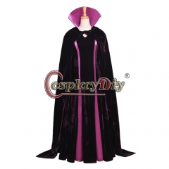 Cosplaydiy Maleficent from Sleeping Beauty Dress maleficent cosplay Costume dress Halloween cosplay Costume
