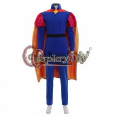 Cosplaydiy Sleeping Beauty Prince Phillip cosplay Costume outfit Halloween Costumes For Men Adult