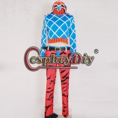 Cosplaydiy Anime JOJO JoJo's Bizarre Adventure Mista Guido Cosplay Costume halloween costume