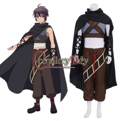 Cosplaydiy Anime Master of Ragnarok and Blesser of Einherjar Yuto Suoh Cosplay adult Man Costume custom made