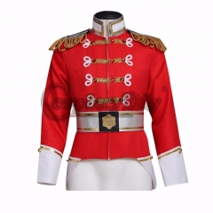 Cosplaydiy the Nutcracker King Eric Cosplay Costume Adult Men's Carnival Uniform
