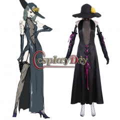 Cosplaydiy Anime Persona 5 Sae Niijima Cosplay Costume Adult Woman Fancy Halloween Suit