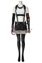(Without Shoes) Game Final Fantasy VII Tifa Lockhart Cosplay Costume Halloween Party Outfit Custom Made