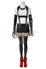 (With Shoes) Game Final Fantasy VII Tifa Lockhart Cosplay Costume Halloween Party Outfit Custom Made