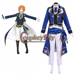 Cosplaydiy Ensemble Stars Brilliance Knights' Starlight Festival Ritsu Sakuma Bloomed Cosplay costume Adult Uniform custom made